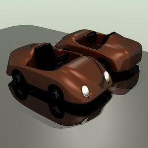 concept race car toy 3d lwo