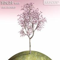 3dsmax tree high-poly billboard