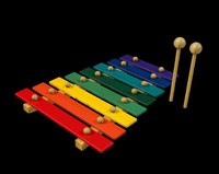 3d xylophone