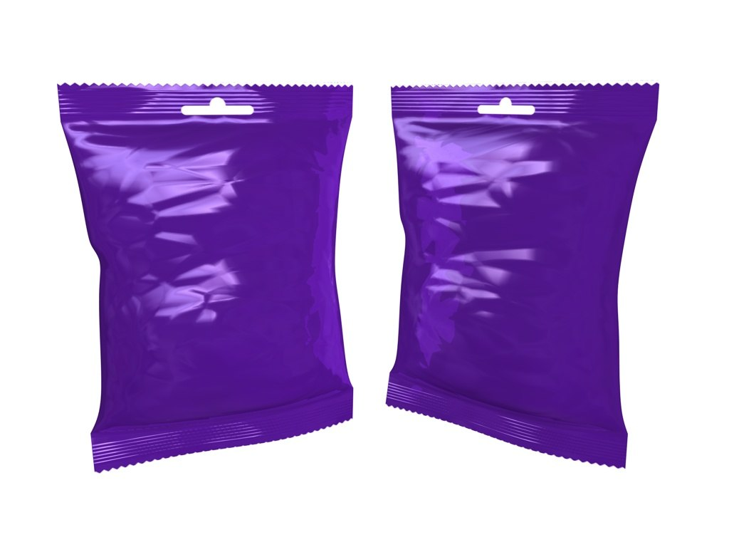 confectionery sweet bag 100g c4d