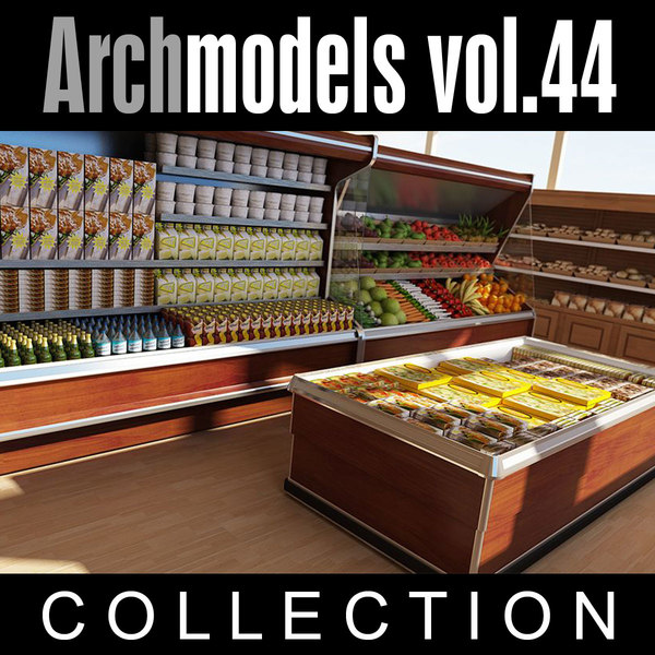 3d archmodels vol 44