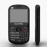 Candybar phone Alcatel OT-813 Duos