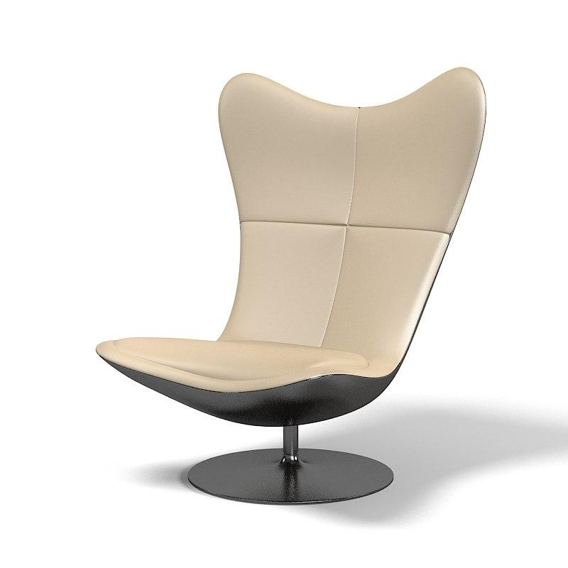 3ds cocran glove armchair