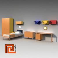 Childrens furniture set 01
