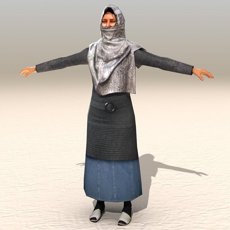 arab afghani casual 11 3ds