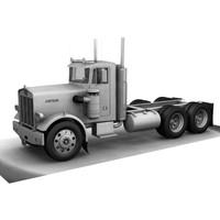 American Truck Juggernaut Lorry