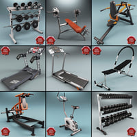 Gym Equipment Collection V4