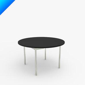 3ds ch388 table design hans wegner