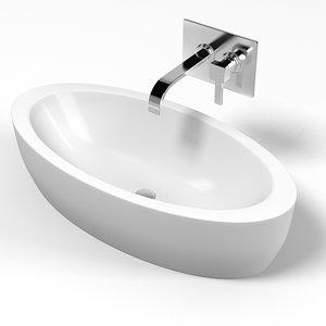 hatria nido oval 3d model