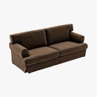 ekeskog sofa ikea 3d model