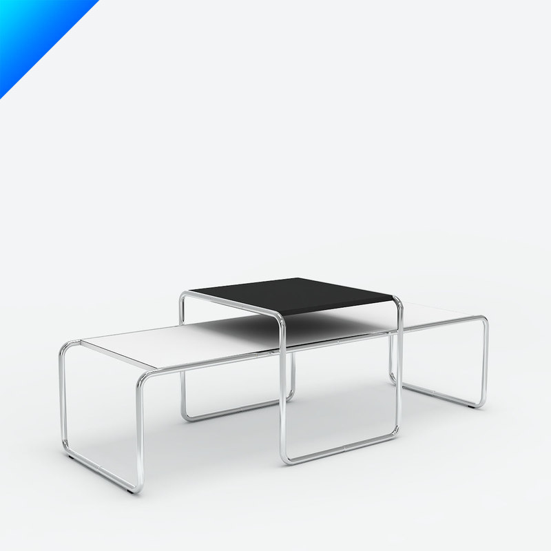 3d C4d Knoll Laccio Table