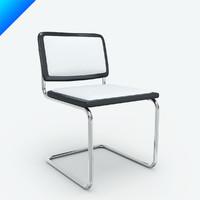 marcel breuer cesca chair seat 3d max