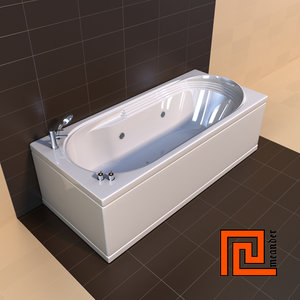 3d model bath designers