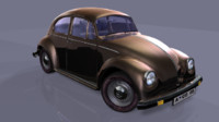 maya beetle car
