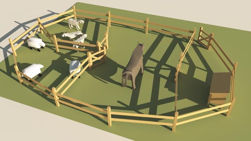 3d zoo model