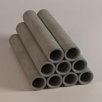 maya concrete pipes