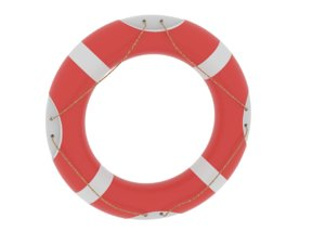 life buoy 3d model