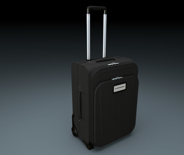 luggage suitcase travel bag 3d c4d
