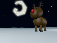 Cartoon Raindeer