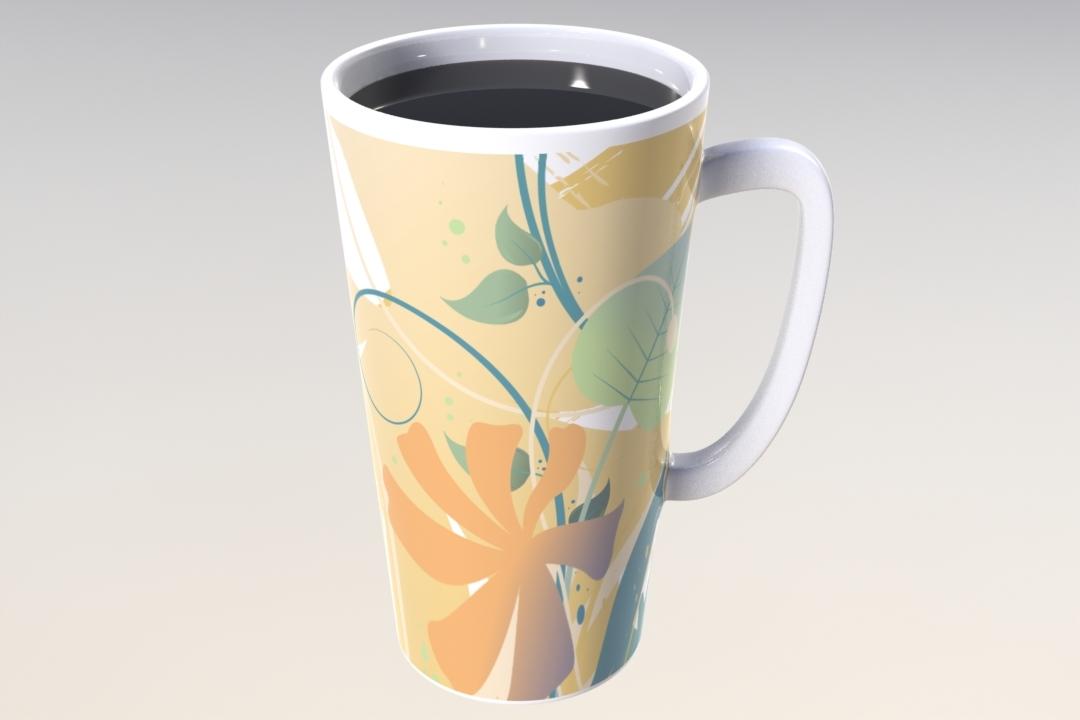 mug drink 3d model