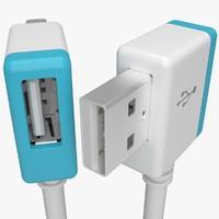 USB A Hub Plug