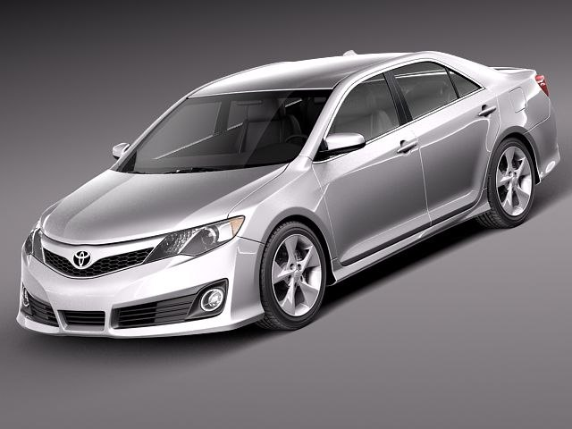 3d 3ds toyota camry usa 2012