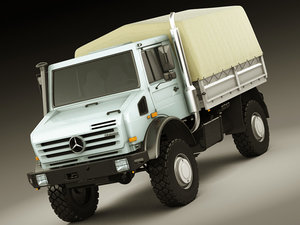3d model mercedes unimog u5000