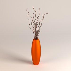 vase decoration 3d model