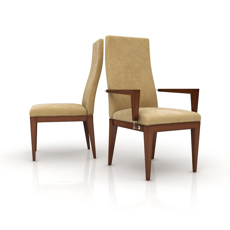 chair mobilfresno eros 3d model