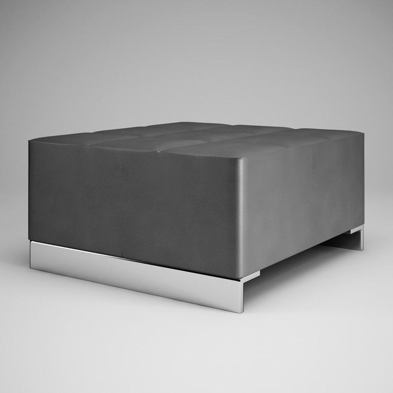 cgaxis graphite pouf 10 c4d