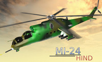 3d max helicopter hind