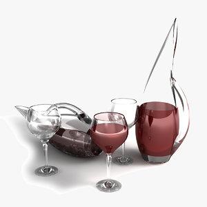 max barolo wine decanter