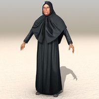 3ds max arab afghani casual 12