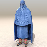 3d model arab afghani casual 14