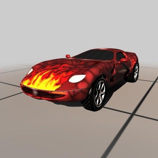 car corvette vehicle c4d