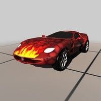 car corvette vehicle c4d