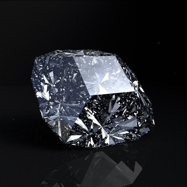 diamond gems 3d obj