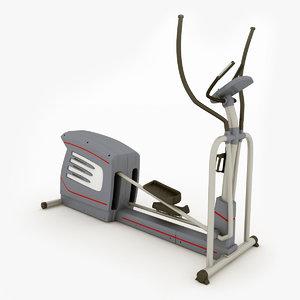 elliptical trainer sbc500 3d c4d