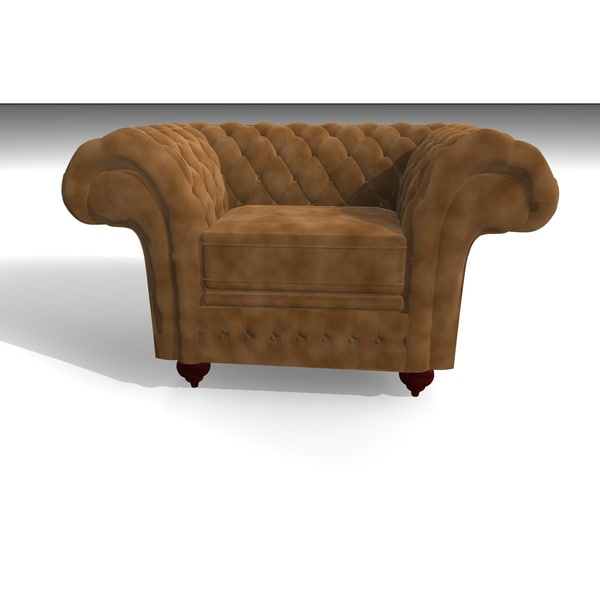 c4d grosvenor 1 seater velvet