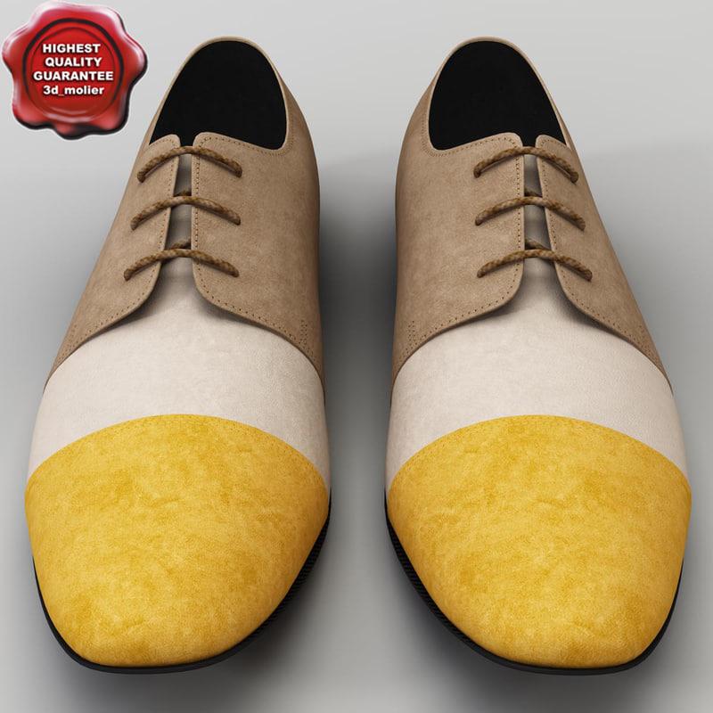 3d men shoes ana locking