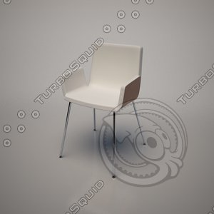 3d model noa chair frighetto