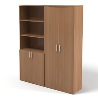 3d office cabinet bookcase