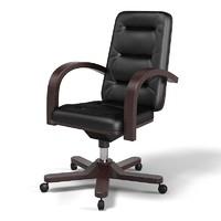 3d office executive swivel
