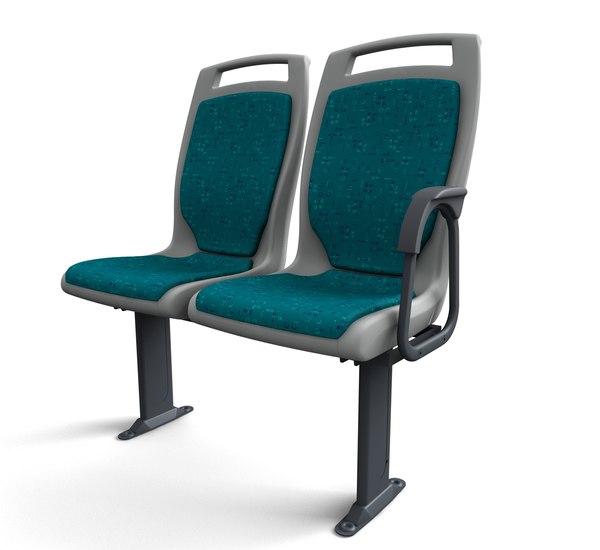 passenger bus 3d model
