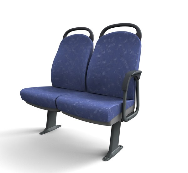 3d passenger bus