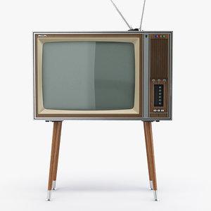 3d retro television philips x26k151 model