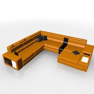 polaris sofa 3d c4d