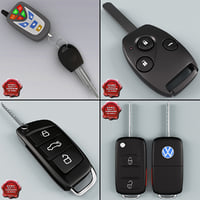 Remote Key Fobs Collection