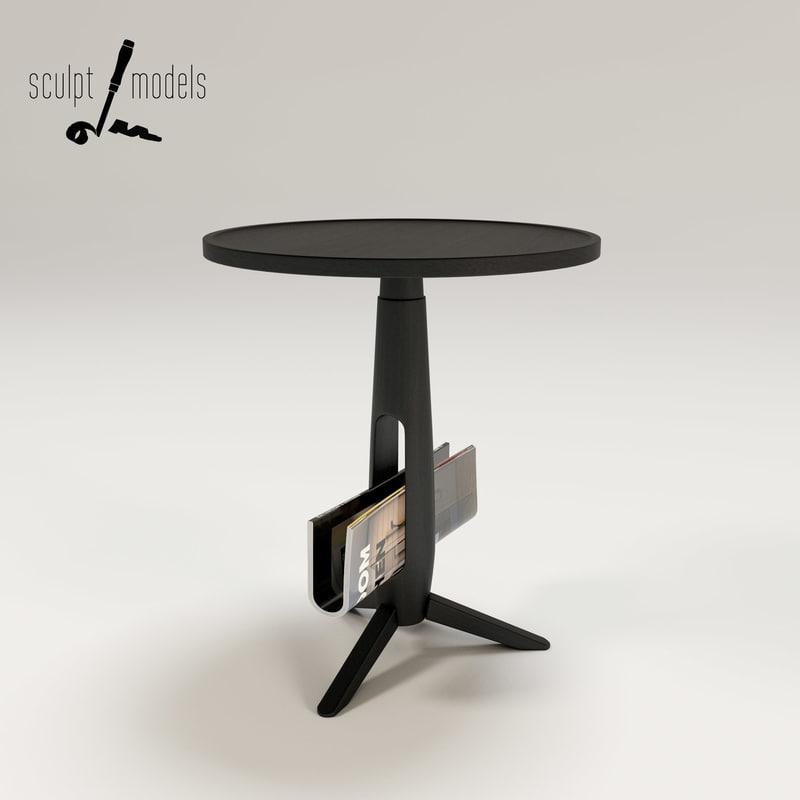 little ben table 3d model