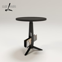 little ben table 3d model